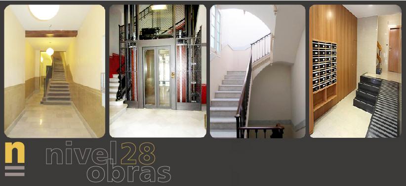 Obras nivel 28 obras escaleras y vest bulos for Reformas de fachadas en palma